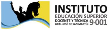 IESDyT N° 9-001 Gral. José de San Martín - Gral. San Martín - Mendoza